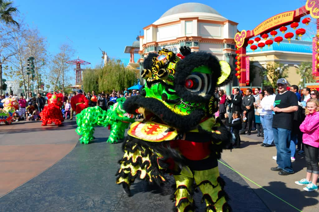Dragon float Chinese New Year Celebration