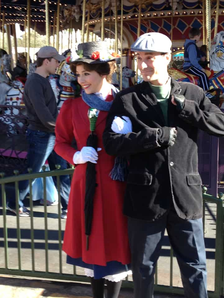 mary poppins bert chimney sweep costume dance scene very rare nanny photo opportunity today unofficial world land planning site scen