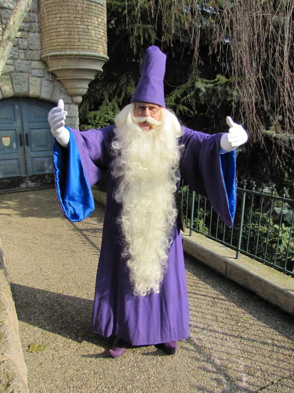 Disneyland Paris, Characters, Merlin, Meet and Greet