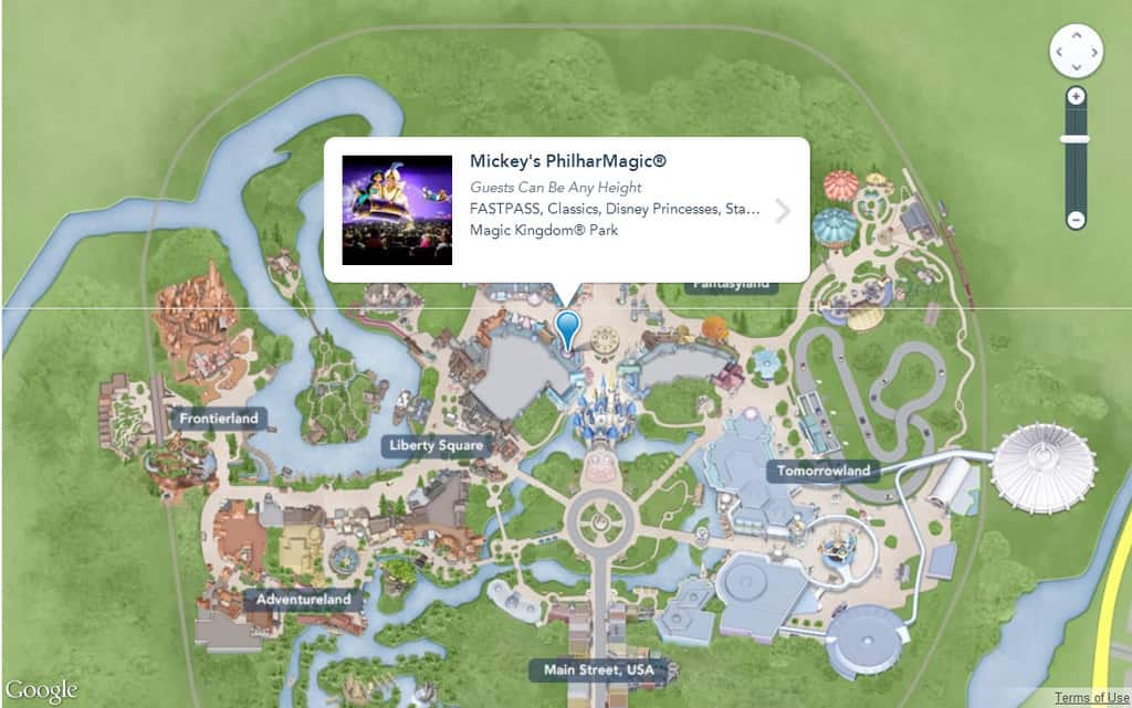 Image result for my disney experience maps
