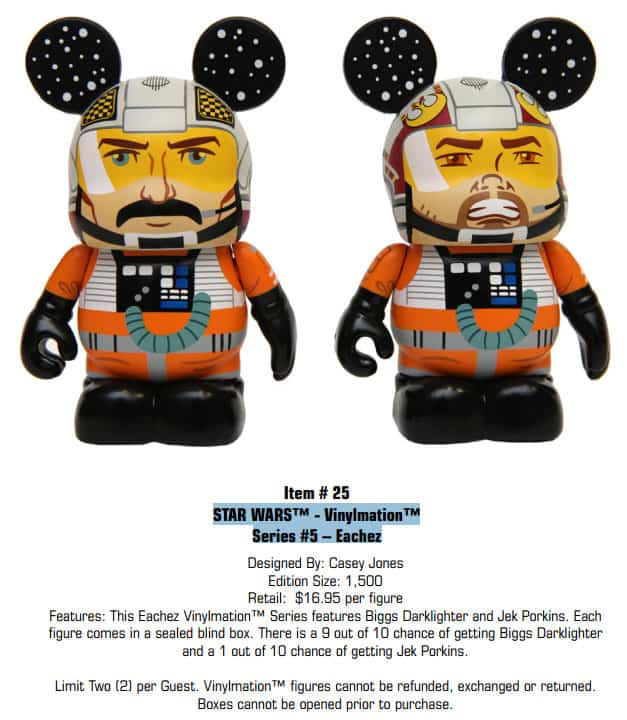 STAR WARS Vinylmation Series 5 Eachez l kennythepirate.com