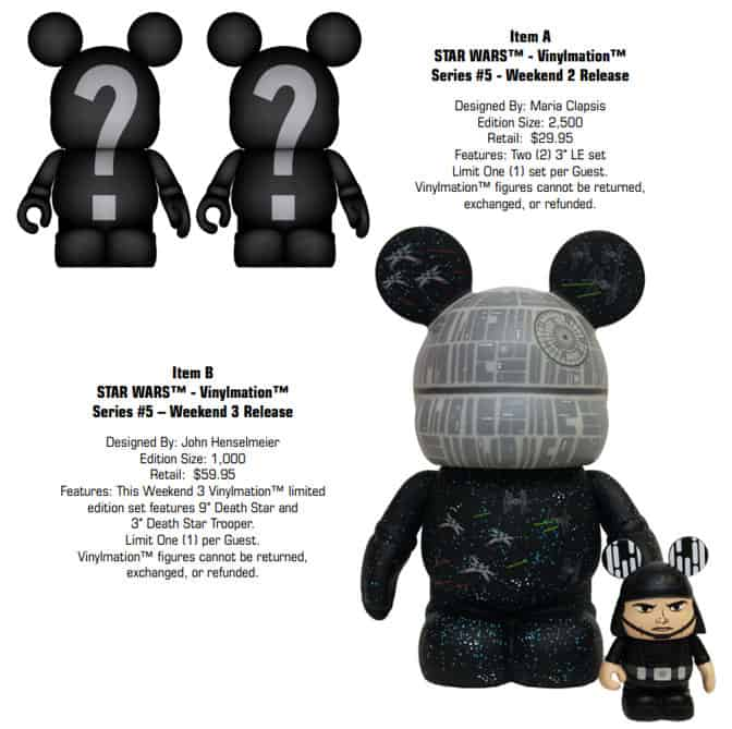 Star Wars Weekends Vinylmation l kennythepirate.com