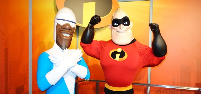What happened to Frozone and Mr. Incredible at Hollywood Studios?