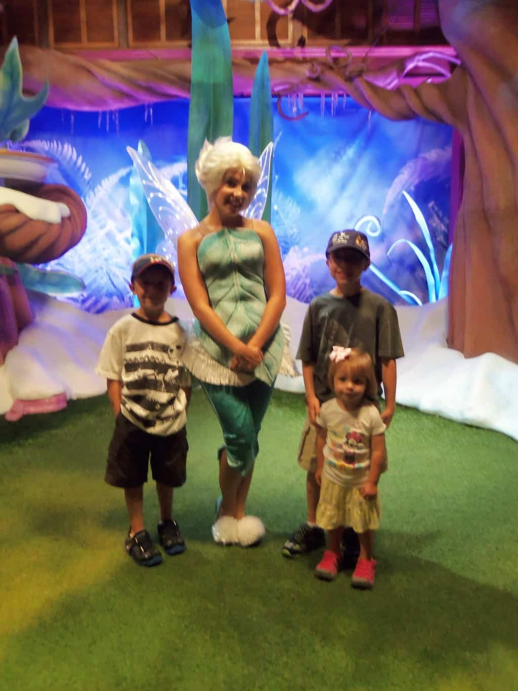 Periwinkle was able to convince the boys to join in the fun.