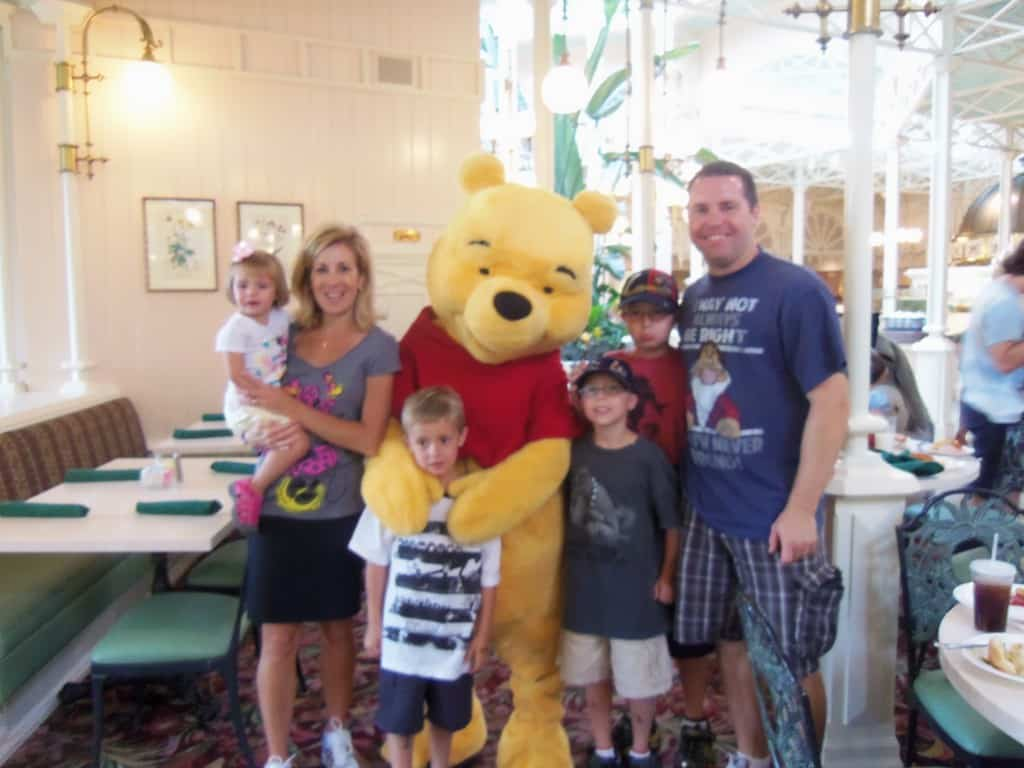 They finished off the meets with Pooh characters at The Crystal Palace.