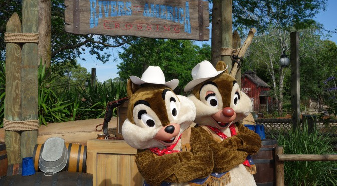 Rumor:  Chip n Dale leaving Frontierland
