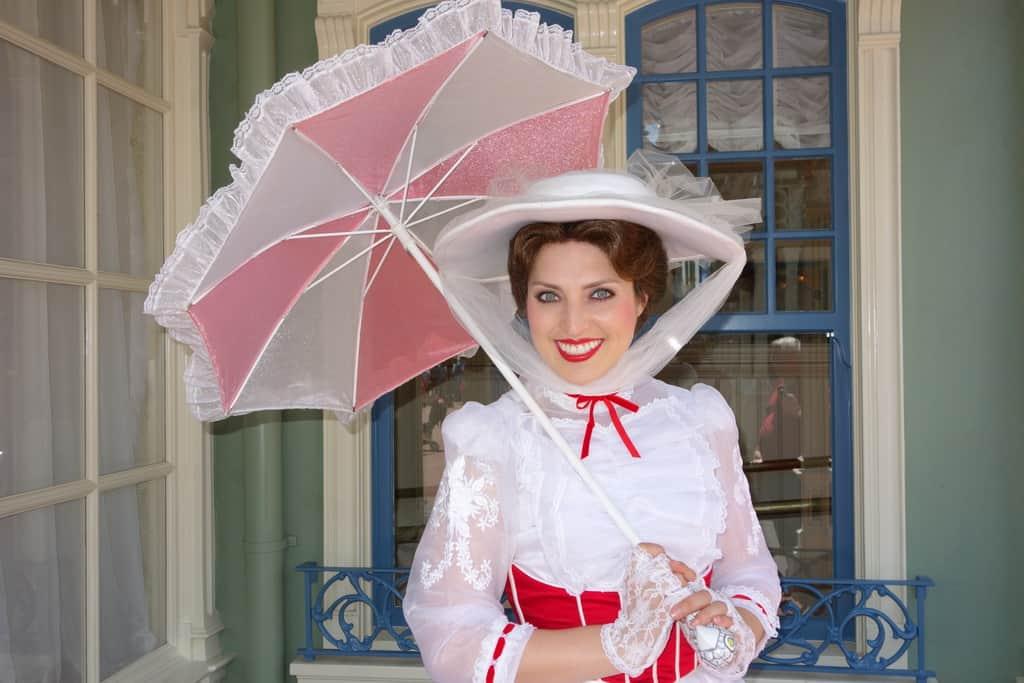 Mary Poppins at the Magic Kingdom 2013