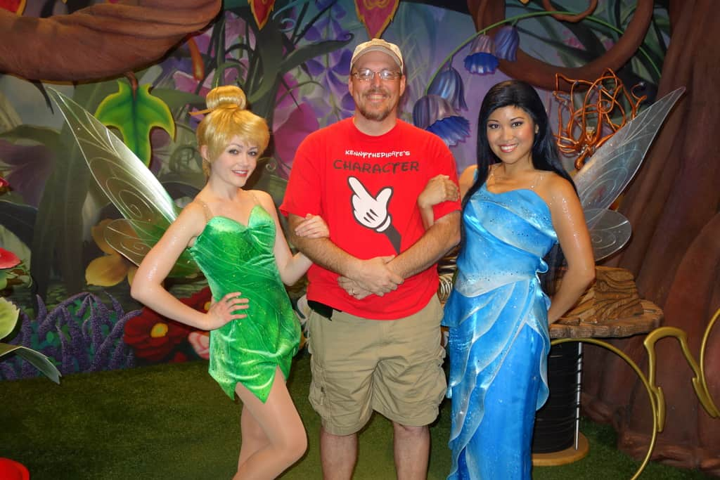 Tink and Silvermist