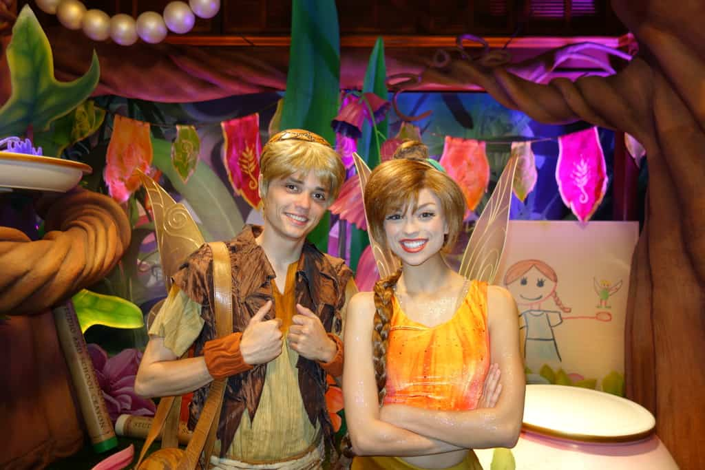 Walt Disney World, Magic Kingdom, Tinker Bell's Nook, Terance, Fawn, Meet and Greet