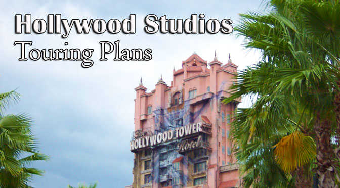 Disney's Hollywood Studios Touring Plans with character meets and rides