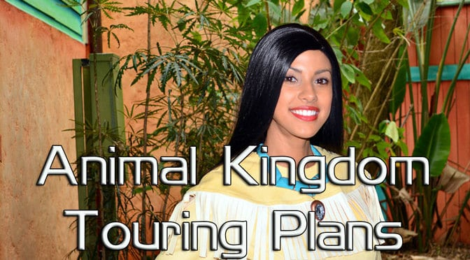 Animal Kingdom Touring Plan at Walt Disney World