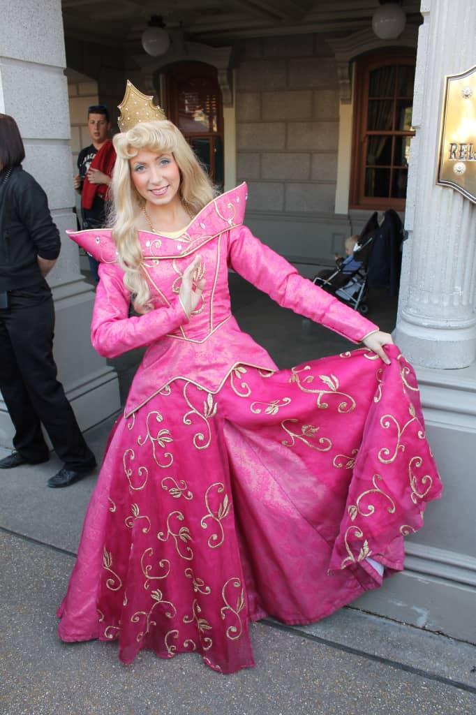 Disneyland Paris, Characters, Aurora, Sleeping Beauty, Briar Rose, Meet and Greet