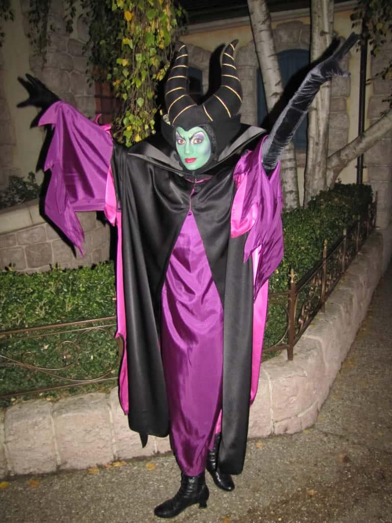 Disneyland Paris, Characters, Halloween, Maleficent, Meet and Greet
