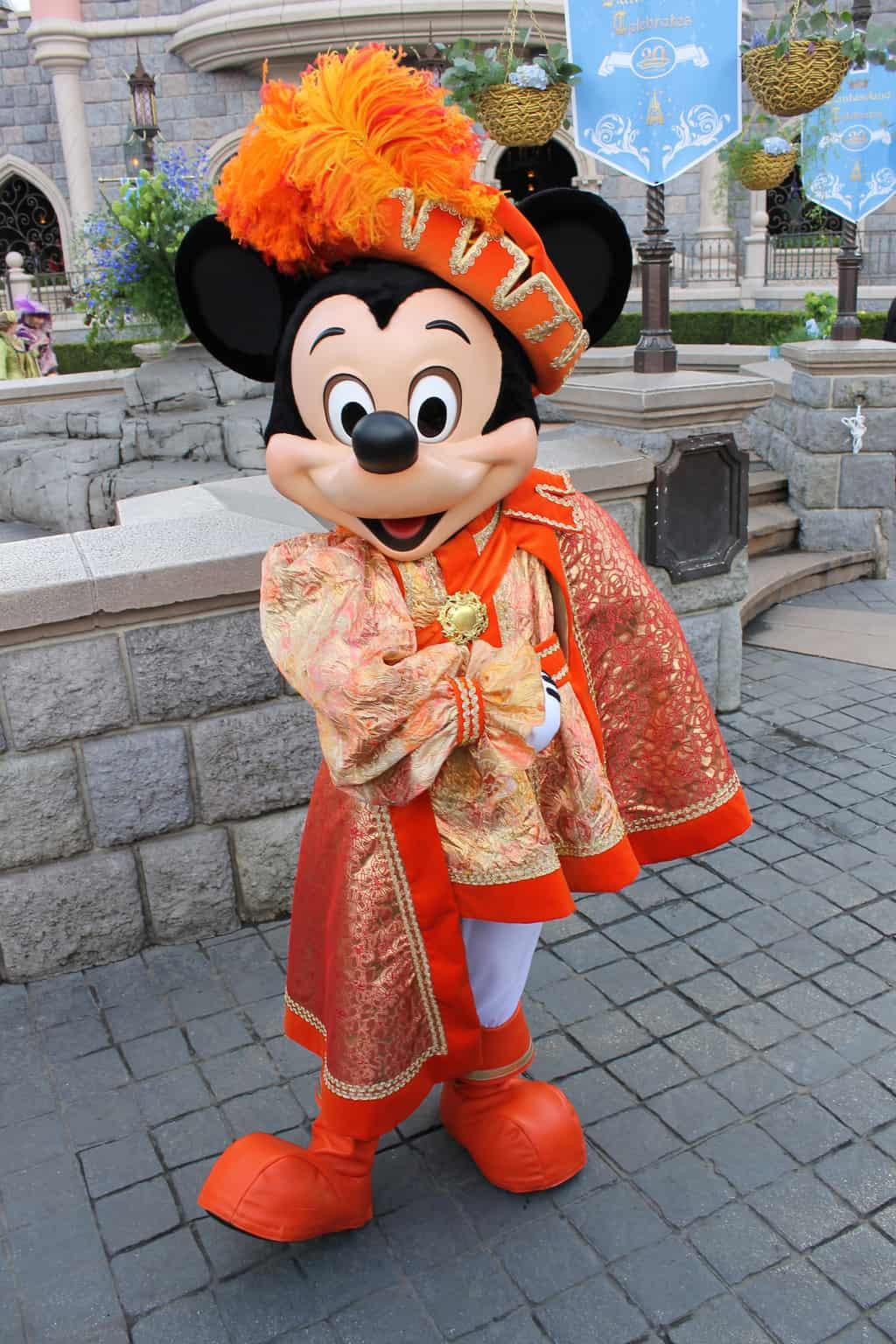 Prince Mickey Mouse Disneyland Paris | KennythePirate.com