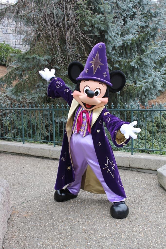 Mickey as a Sorcerer Apprentice at Disneyland Paris