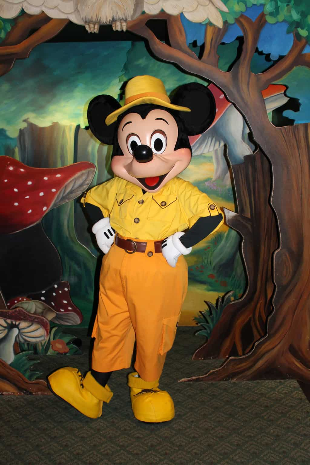 Disneyland Paris, Characters, Sequoia Lodge, Mickey Mouse