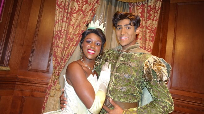 Princess Tiana and Prince Naveen