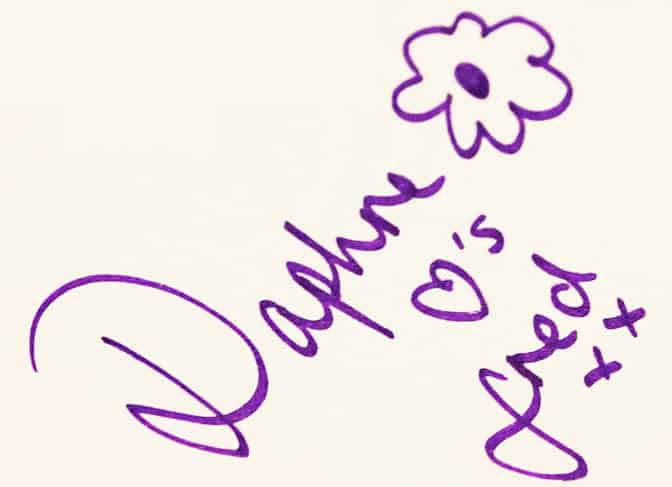 Daphne from Scooby Doo Autograph