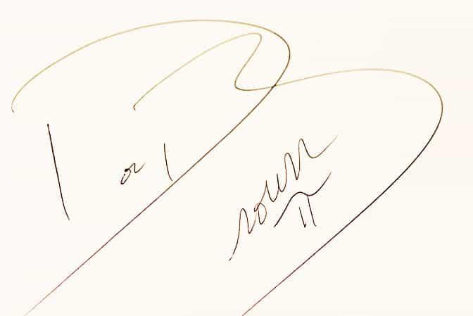 Doc Brown Autograph