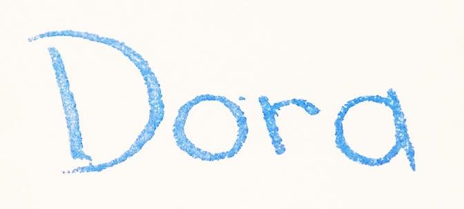 Dora the Explorer Autograph