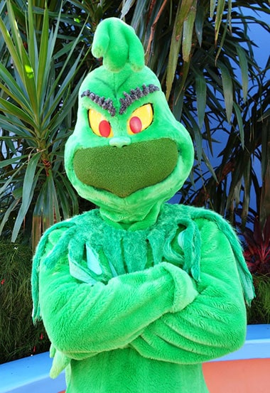 Grinch Universal Orlando Islands of Adventure Characters