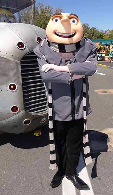 Gru meet and greet Universal Studios Florida