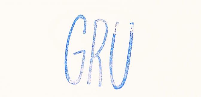 Gru autograph