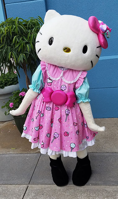 Hello Kitty meet and greet at Universal Orlando