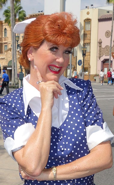 Lucy Ricardo Universal Orlando character meet and greet