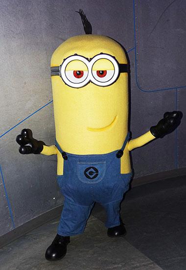 Minions characters meet and greet at Universal Orlando