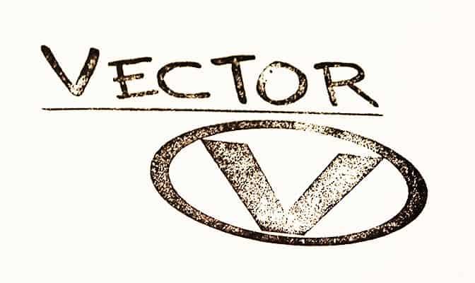 Vector autograph