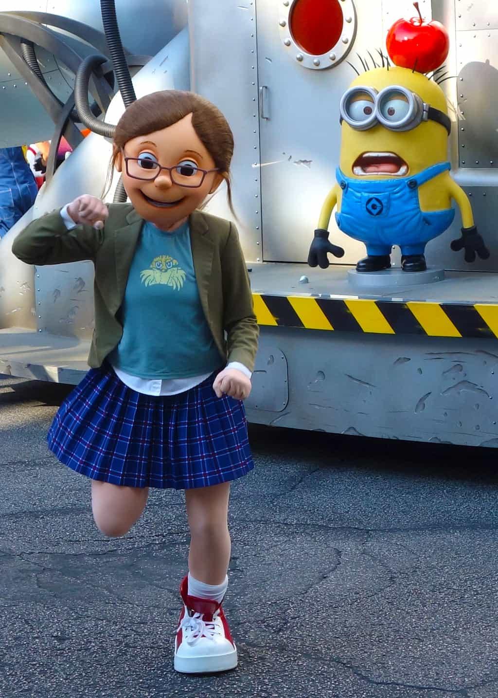 Margo Universal Studios 2012 parade unit