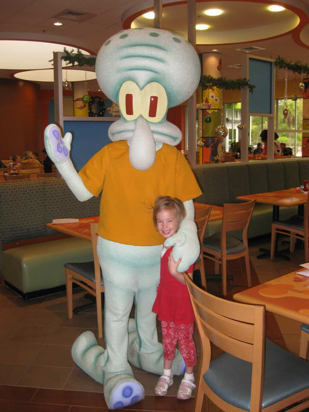 Squidward Nick Hotel 2009