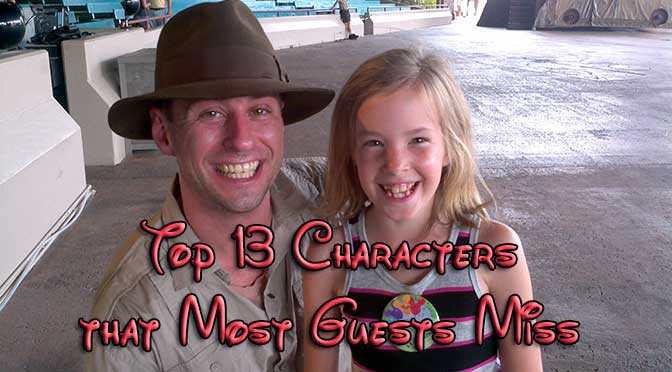 Top 13 Characters at Disney World That most guests miss
