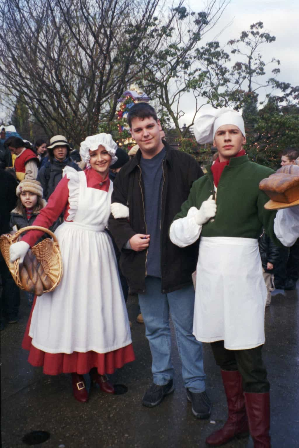 Disneyland Paris, Characters, Beauty and the Beast, The Baker and his Wife