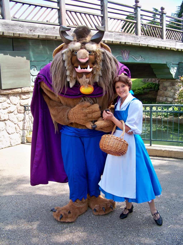 Disneyland Paris, Characters, Beauty and the Beast, Belle, Beast