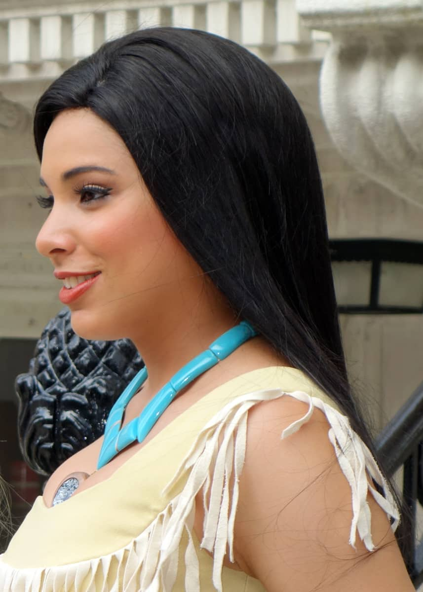 Pocahontas at Character Palooza in Hollywood Studios