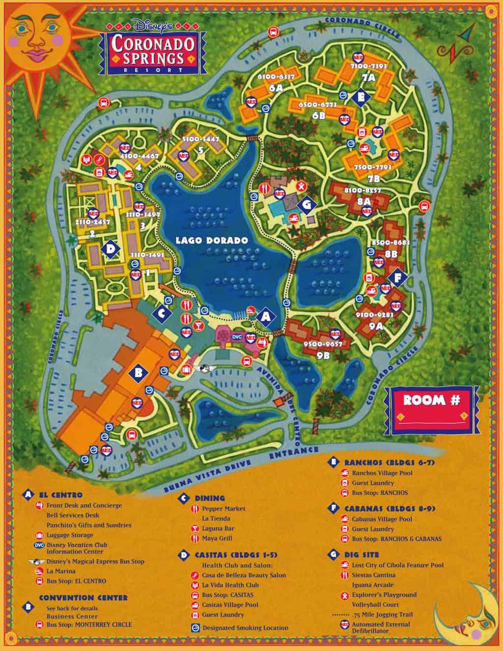 Walt Disney World maps for theme parks, resorts, transportation ...
