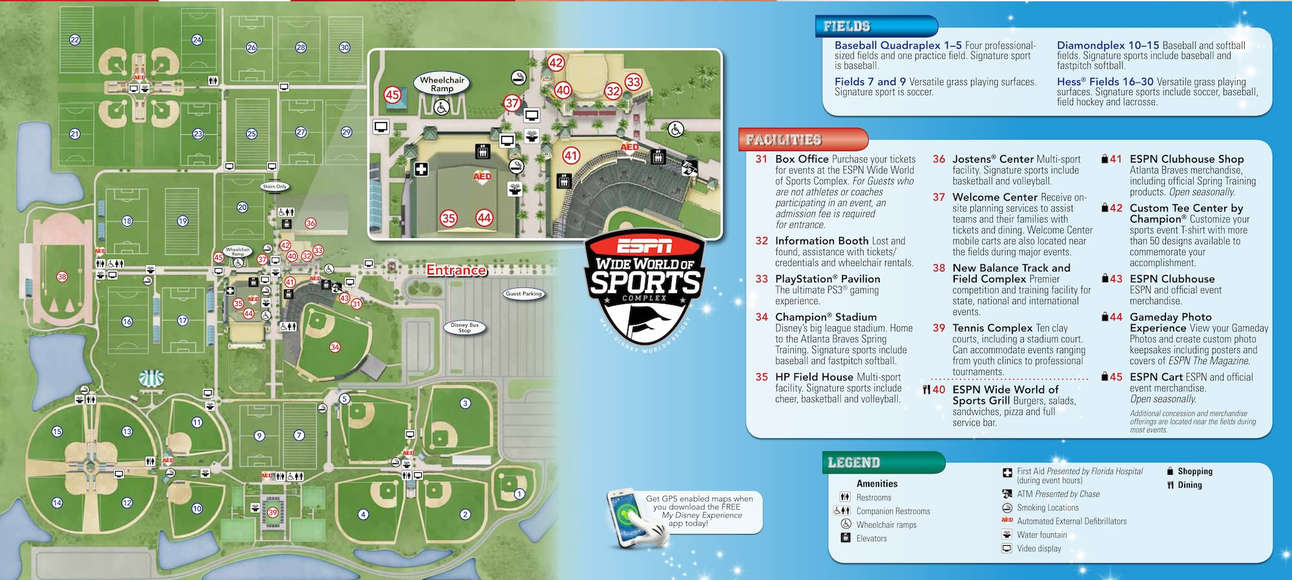 Espn Wide World Of Sports Map OnlineShoesNike