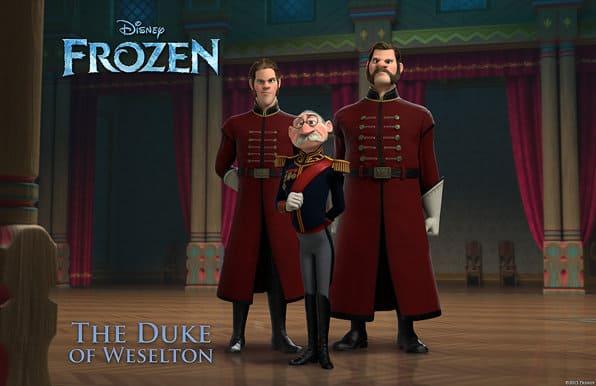 frozen Duke of Weselton