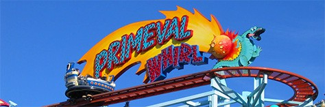 Walt Disney World, Animal Kingdom, Attractions, Primeval Whirl