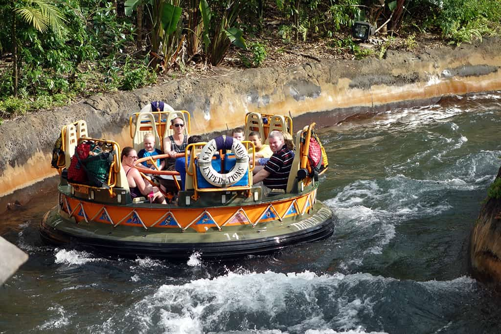 Kali River Rapids to operate on limited hours in December