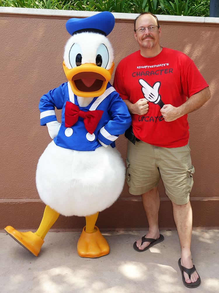 Donald Training at Epcot World Showplace (2)