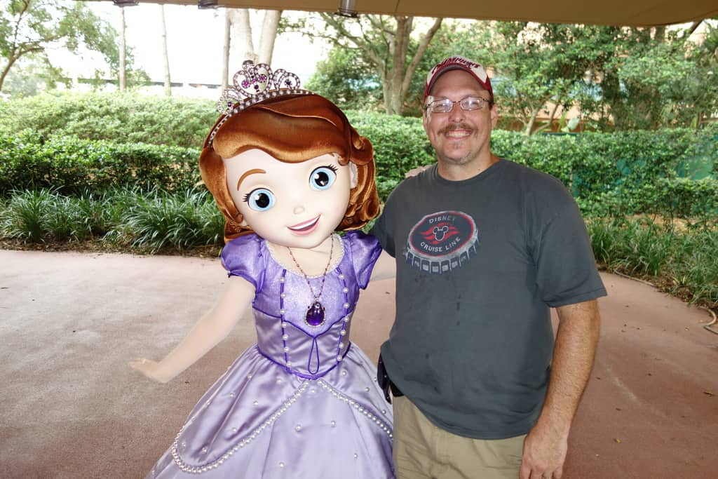 Sofia The First Hollywood Studios 2013 Kennythepirate