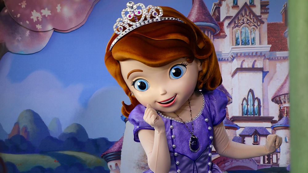 Sofia the First Hollywood Studios (1)