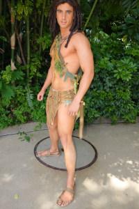 Tarzan at Animal Kingdom in Disney World