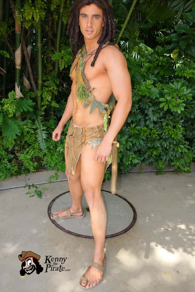 Tarzan at Animal Kingdom in Disney World