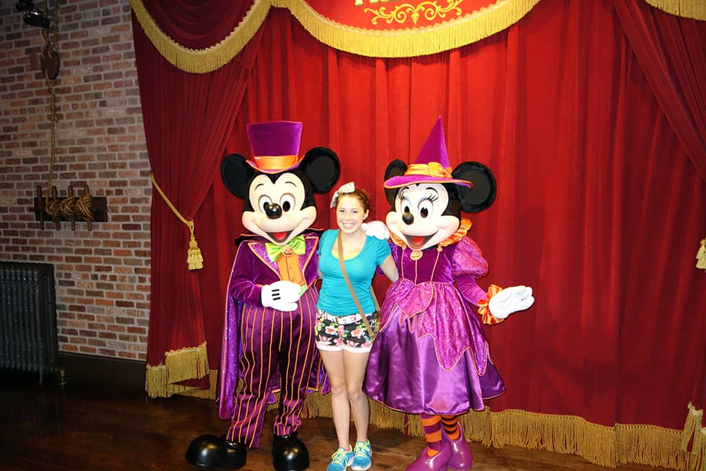 Mickey was with Minnie and they were only appearing in these costumes.  I've heard that Minnie is supposed to move to Fantasyland on 9/20.  Maybe to open the way for Talking Mickey???