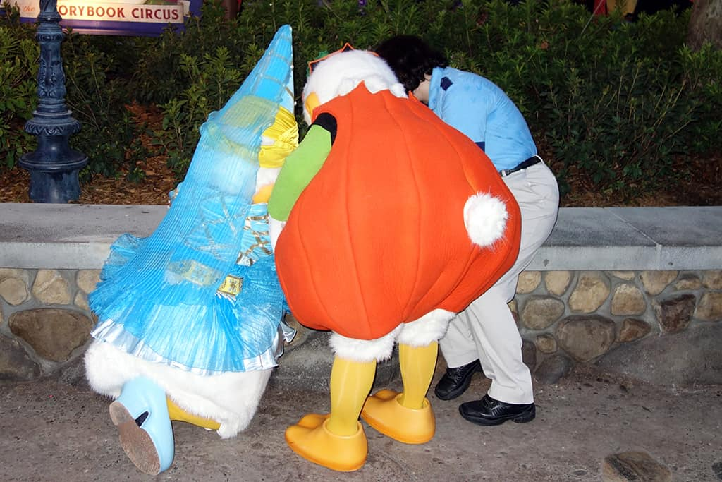 Mickey's Not So Scary Halloween Party Donald