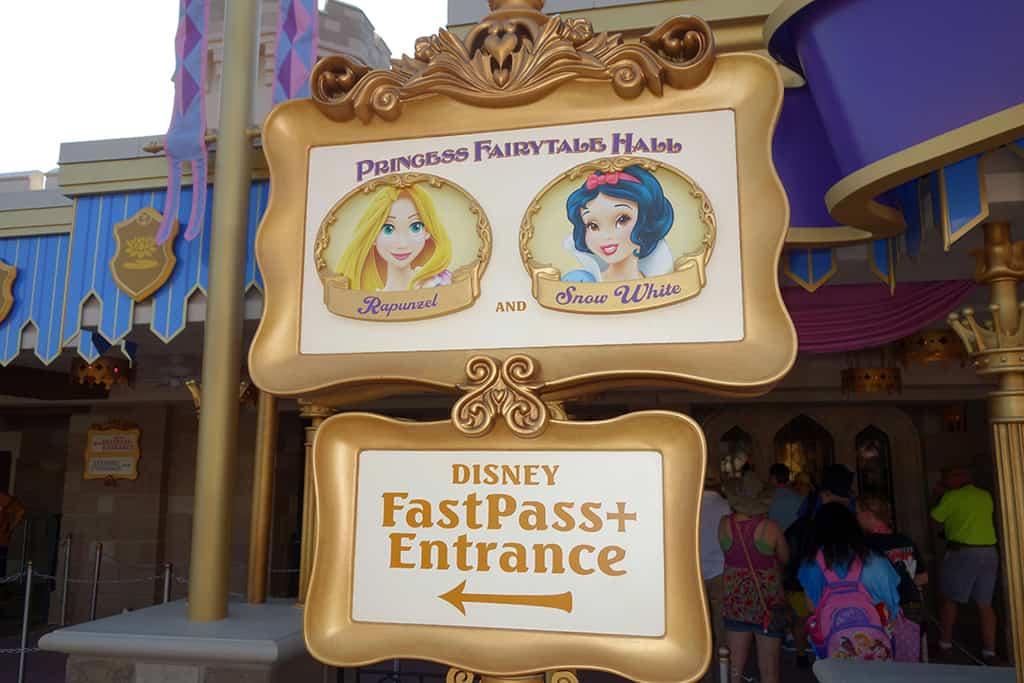 LEFT side for Rapunzel/Snow White